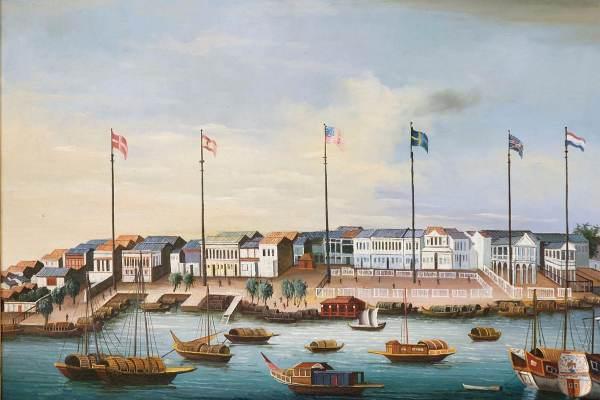 China trade paintings, c 1820