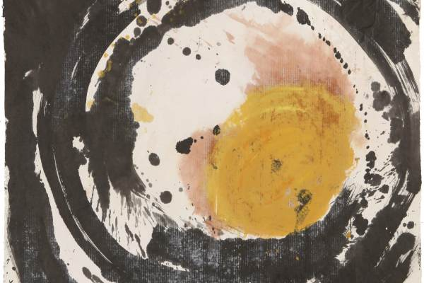 Zhang Hongtu, Story of One Circle, 1983, Ink, gouache and acrylic on rice paper, Courtesy of the artist