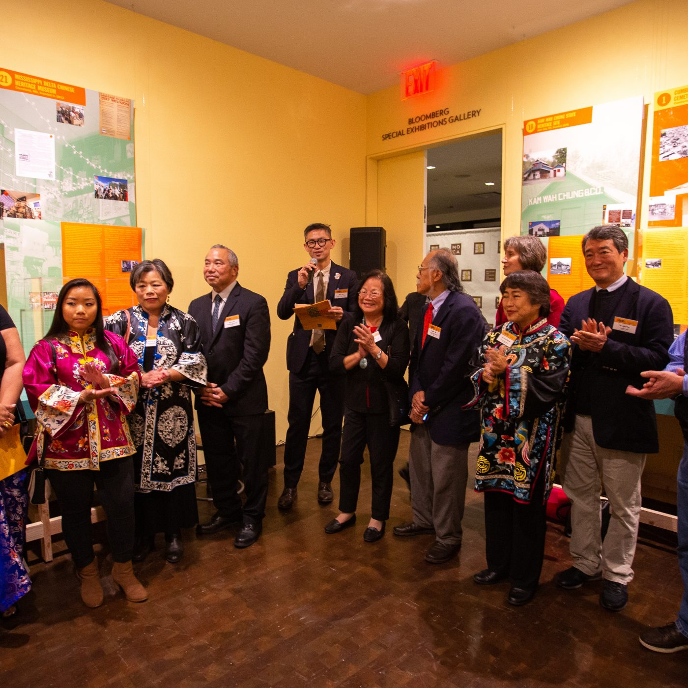"""Opening Reception of """"Gathering: Collecting and Documenting Chinese American History"""""""