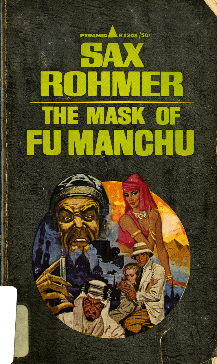 17 April 2019 Posted. The Mask of Fu Manchu. Museum of Chinese in America (MOCA) collection. 《傅满洲的面具》。美国华人博物馆(MOCA)馆藏