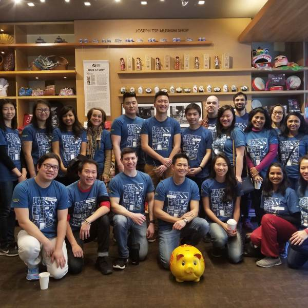 Bloomberg Volunteers at MOCA's Lunar New Year Family Festival