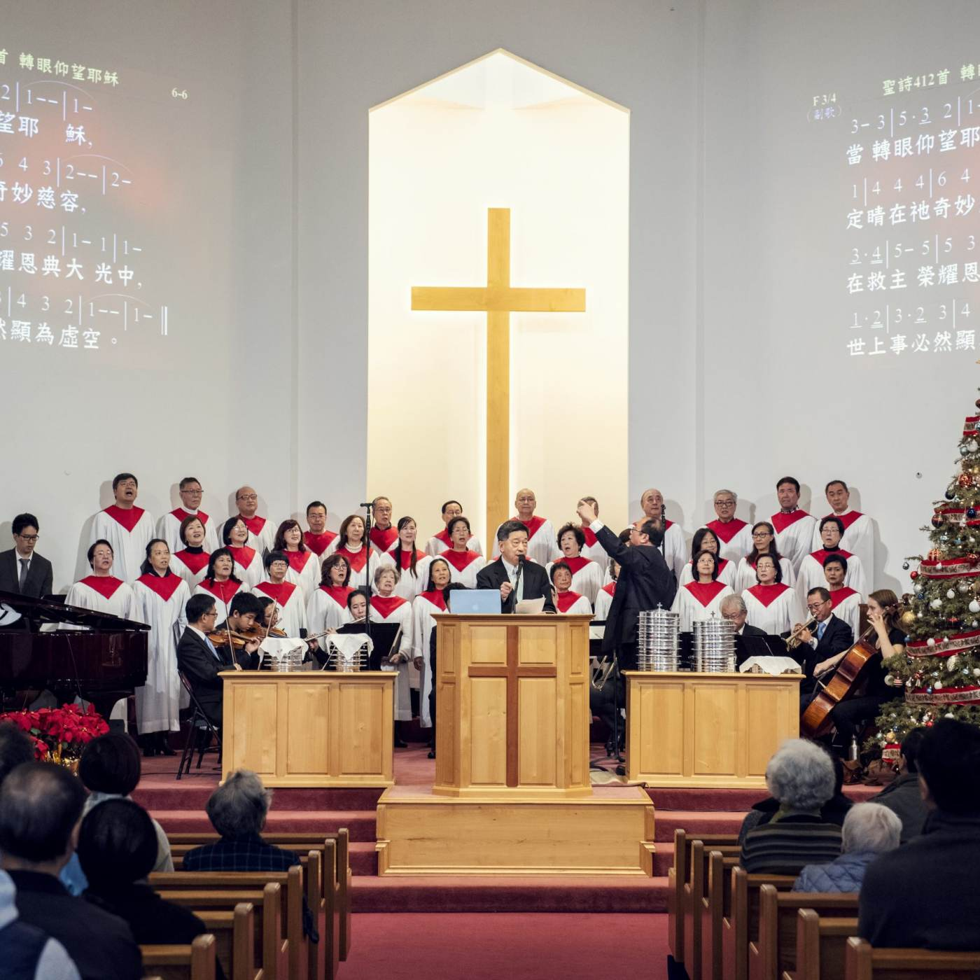 Jessica Chou, Rowland Heights Community Christian Church, Chinese Sunday Service, 2019