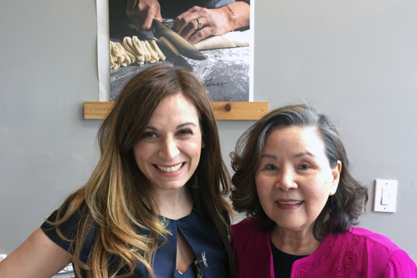 Published home cook Tina Yao's recipes are featured in Anna Gass' Heirloom Kitchen: Heritage Recipes and Family Stories from the Tables of Immigrant Women