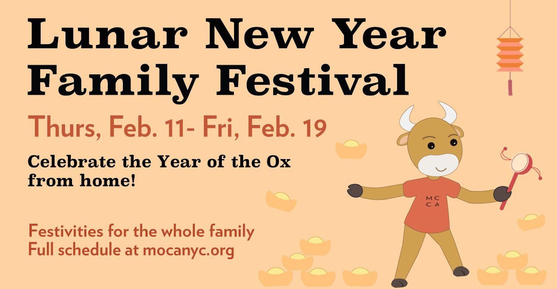 Lunar New Year Family Festival Web Banner