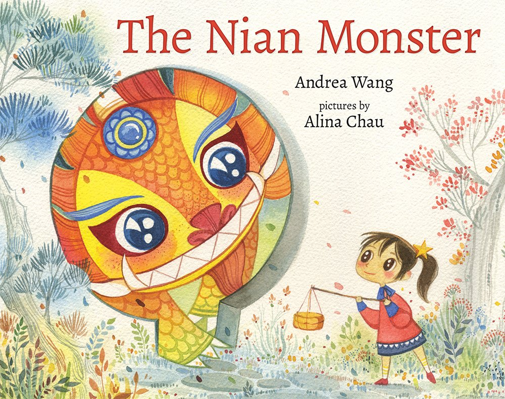 The Nian Monster Book Cover