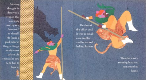 Photo Credit: Monkey King by author and illustrator Ed Young